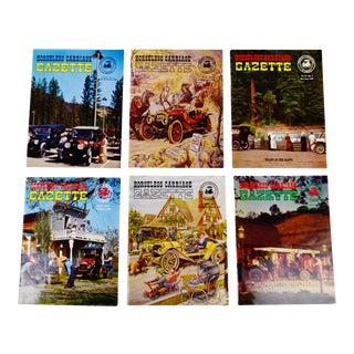 Horseless Carriage Gazette Magazines - 1965 Full Year - Collectible