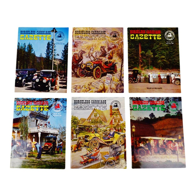 Horseless Carriage Gazette Magazines - 1965 Full Year - Collectible For Sale