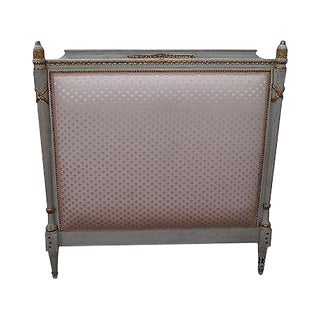 Beacon Hill Vintage French Louis XV Style Single Headboard For Sale
