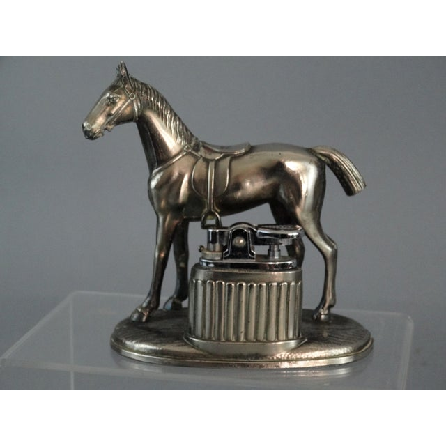 Equestrian Horse Table Lighter - Image 3 of 9