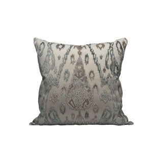 Scalamandre Tai Lao Pillow, Mist For Sale