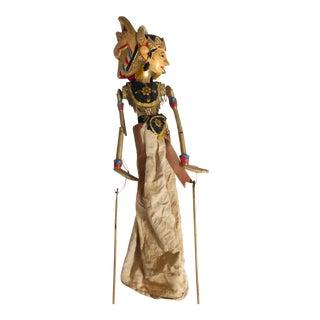 Indonesian Wayang Golek Rod Puppet For Sale