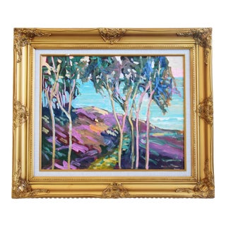 Juan Guzman, Santa Barbara Landscape Seascape Painting For Sale