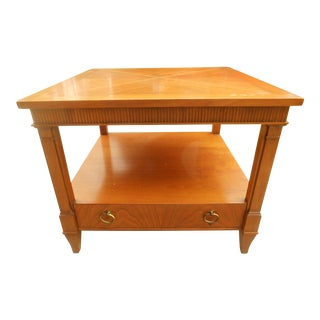 Baker Furniture Nightstand Designed by Michael Taylor For Sale
