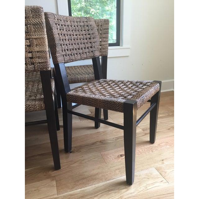 Palecek Panamawood Dining Chair - Set of 8 - Image 7 of 9