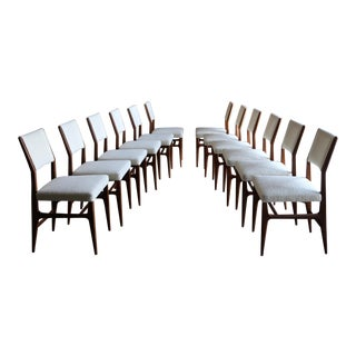 Gio Ponti Set of Twelve Dining Chairs for Singer & Sons, Circa 1950 For Sale