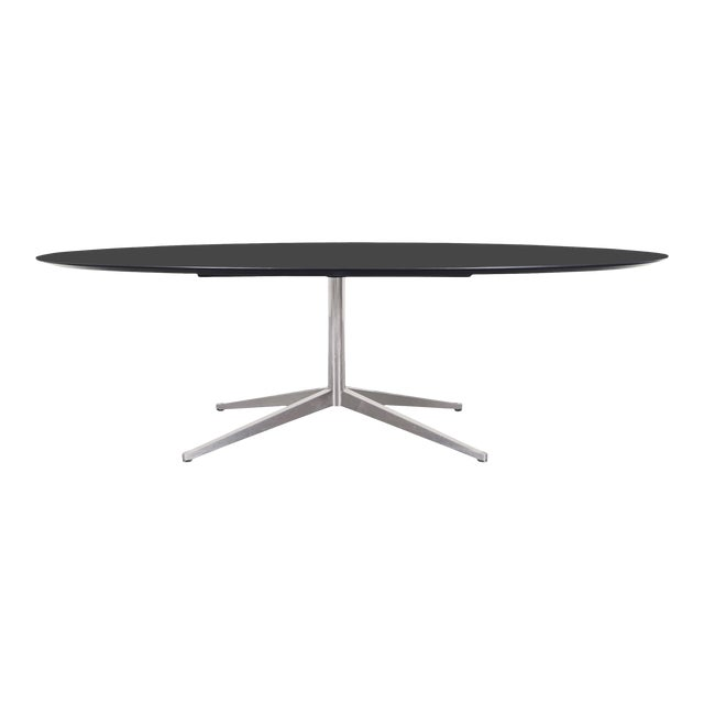 Vintage Executive Desk or Dining Table by Florence Knoll For Sale