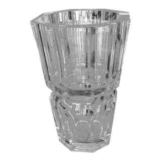 Baccarat Edith Crystal Vase For Sale