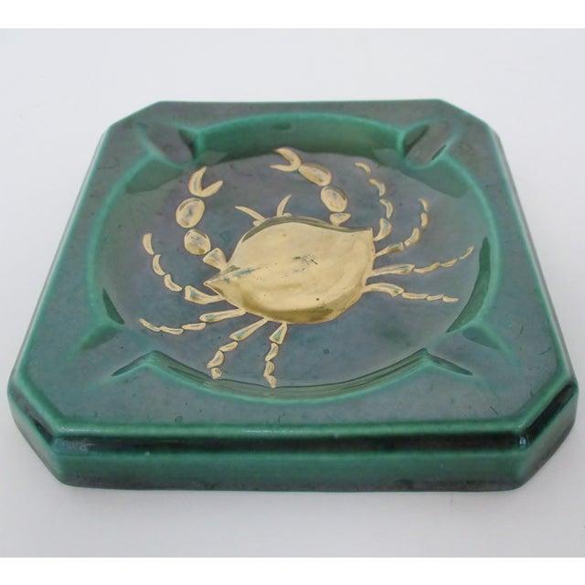 Mid 20th Century Vintage Ceramic Ashtrays, Set of 2 For Sale - Image 5 of 8