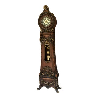 Continental Rococo Grandfather Clock For Sale