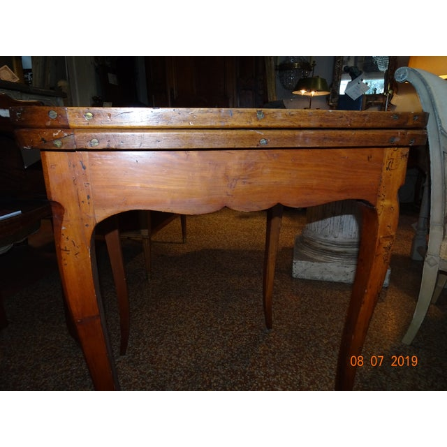 French 18th Century French Game Table For Sale - Image 3 of 9