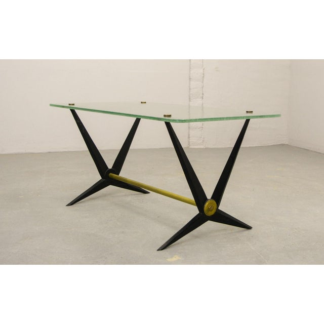 1950s Mid-Century Italian Design Side Table Designed by Angelo Ostuni, Italy, 1950s For Sale - Image 5 of 11