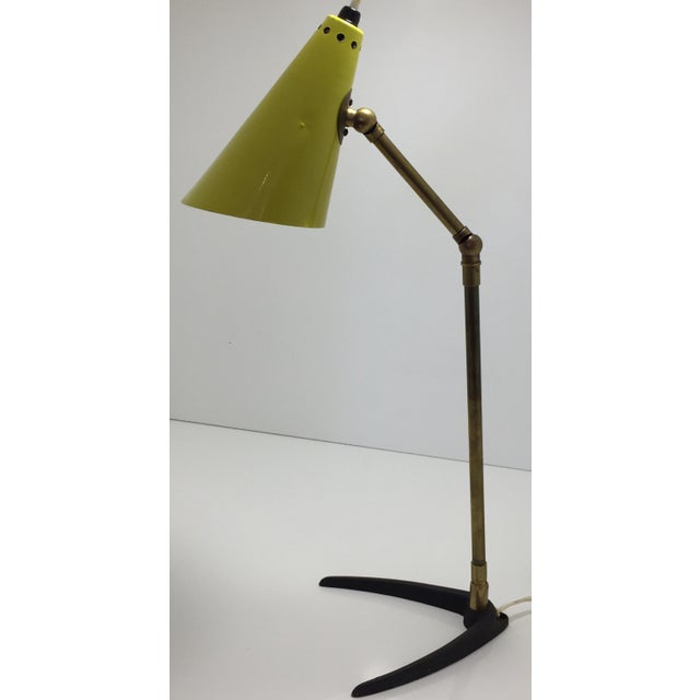 Mid-Century Modern 1950s Mid-Century Modern Stilnovo Table Lamp For Sale - Image 3 of 11