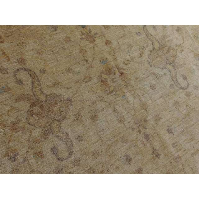 Hand Knotted Pakistan Rug - 8'x 8' For Sale - Image 4 of 10