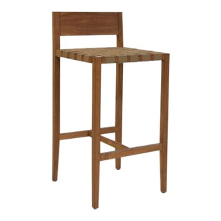Rusa Teak Bar Stool For Sale