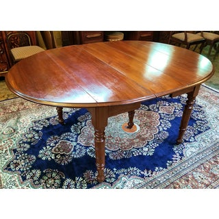 Early 19th Century American Cherry Extendable Dining Table Preview