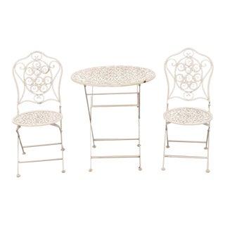 Swedish Garden Steel Furnitures For Sale