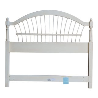 Ethan Allen Country French Full/Queen Wheatback Headboard For Sale