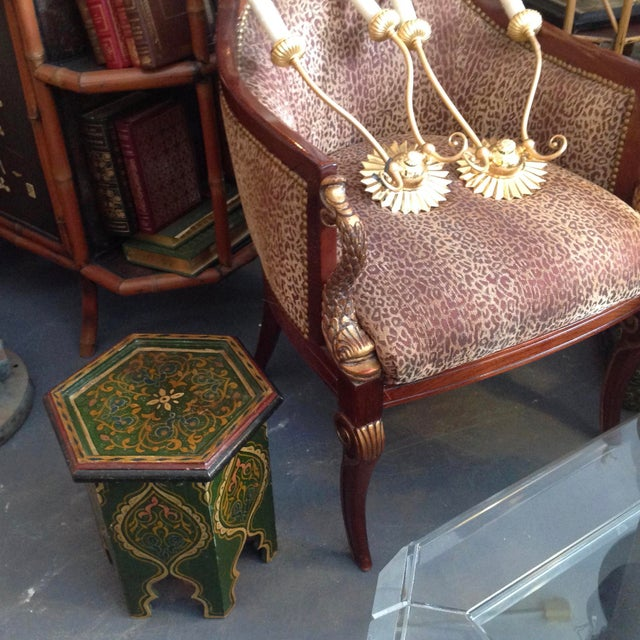 Petite Moroccan Tabouret For Sale - Image 11 of 12