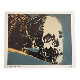 "Andy Warhol Original Offset Lithograph Print Poster "" The Skull ""1976"