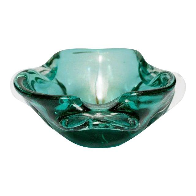 Seguso Mid-Century Organic Modern Murano Bowl For Sale