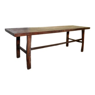 Antique Ming Elm Coffee Table For Sale