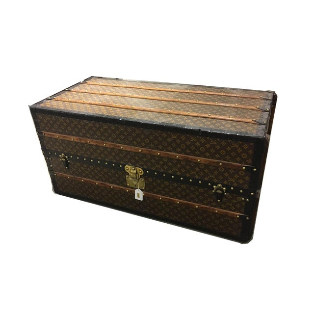 Louis Vuitton Wardrobe Trunk For Sale - Image 9 of 9