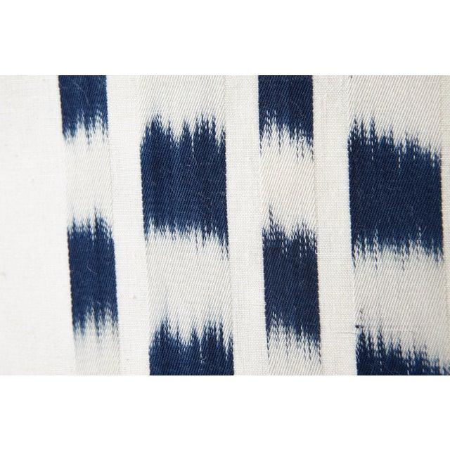 Using a traditional, artisanal weaving technique, this Schumacher Izmir Stripe Ikat is intentionally irregular,...