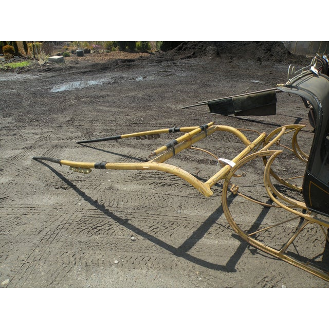 Antique Portland Cutter Sleigh Christmas Sled For Sale - Image 5 of 10