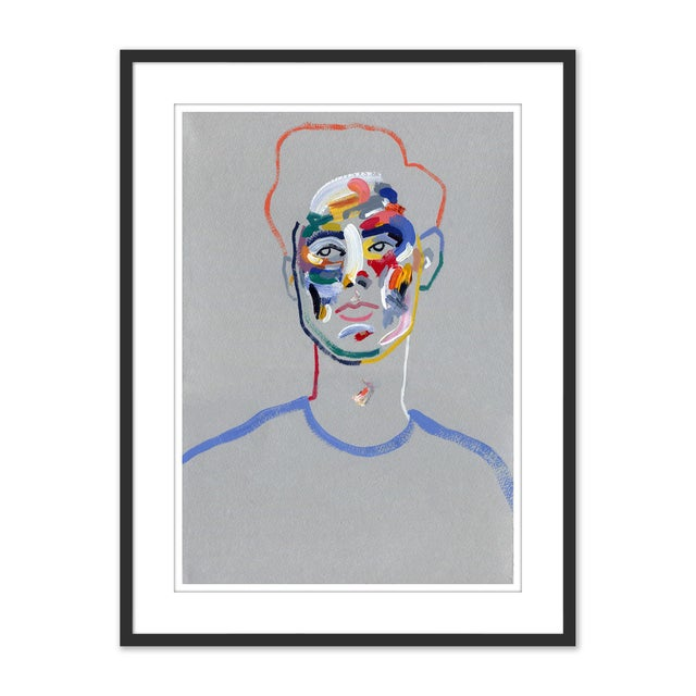 Not Yet Made - Made To Order Walter by Robson Stannard in Black Frame, Medium Art Print For Sale - Image 5 of 5