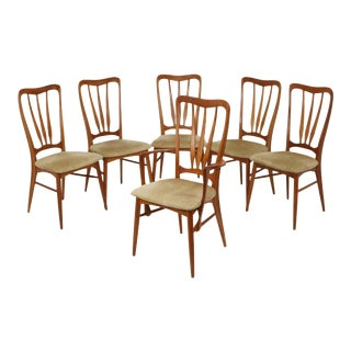 Koefoeds Hornslet Danish Modern Teak Chairs - Set of 6