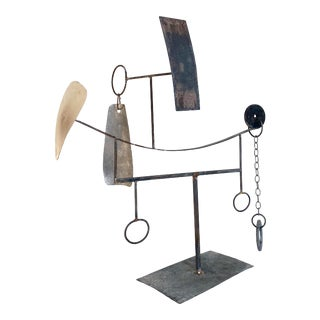 Mid-20th Century Modernist/Constructivist Sculpture For Sale