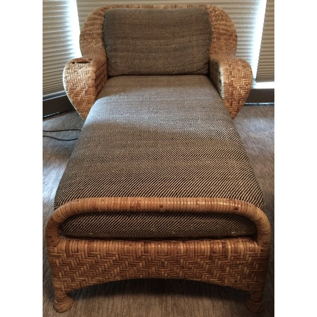 Wicker Chaise Lounge - Image 3 of 5