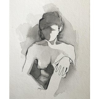 Figure Painting III by Tawna Allred For Sale