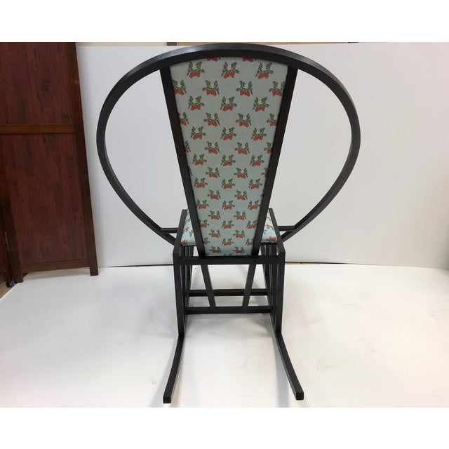Unique Japanese Rocking Chair For Sale - Image 4 of 7