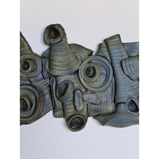 Tim Keenan ceramic wall sculpture, 2019.