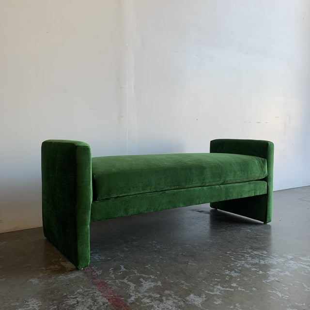 1980s Post Modern Bench For Sale - Image 5 of 13