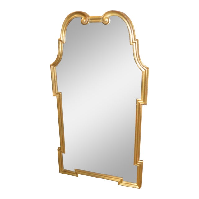 Vintage Palladio Italian Shaped Wall Mirror For Sale