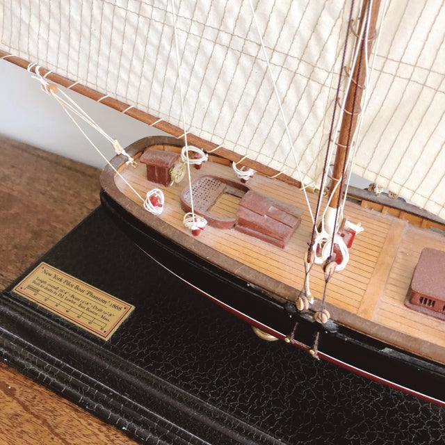 "American Vintage New York Pilot Boat ""Phantom"" 1868 Model For Sale - Image 3 of 8"