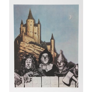 Robert Anderson, Courage-Wizard of Oz , Lithograph For Sale