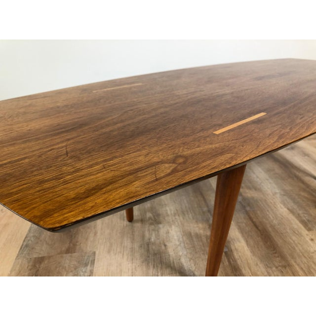 Knoll Abel Sorensen for Knoll Surfboard Coffee Table For Sale - Image 4 of 13