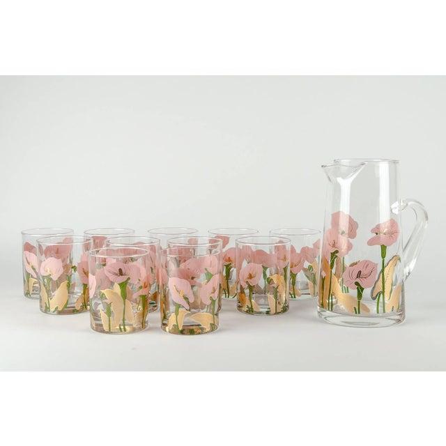 Vintage Martini Cocktail Glassware - Set of 11 For Sale - Image 11 of 13
