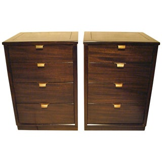 Pair of Edward Wormley Small Scale Chests for Drexel For Sale
