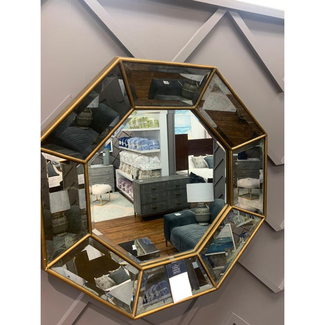 Like cool shapes? Throw this octagon mirror up on your wall and see yourself from 8 different angles!