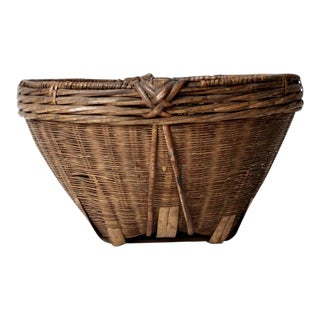 Antique Chinese Basket For Sale