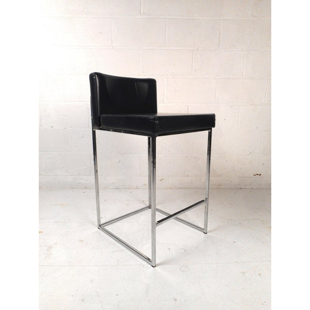 Contemporary Set of 3 Italian Stools by Calligaris For Sale - Image 3 of 13