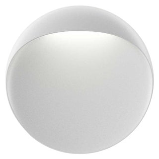 Large 'Flindt' Indoor/Outdoor Wall Light in White for Louis Poulsen For Sale