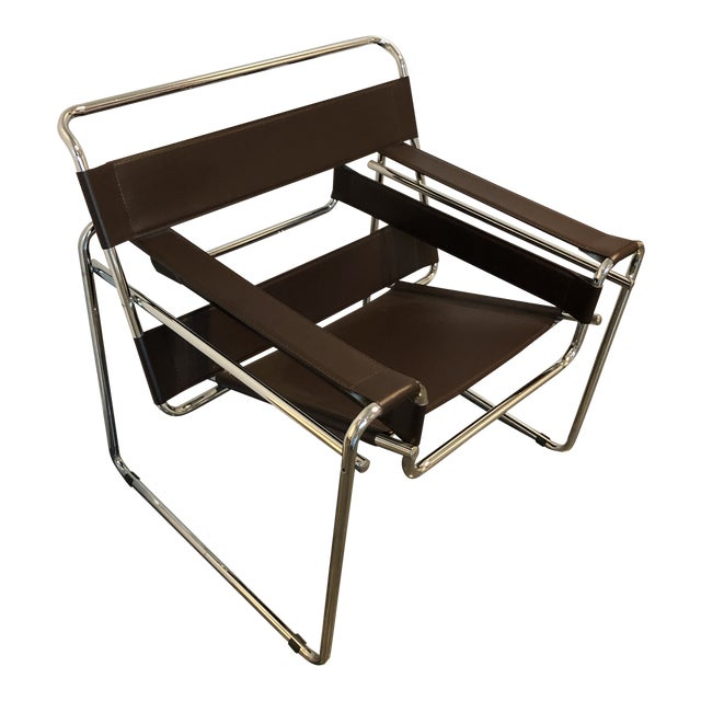 """Modern """"Wassily"""" Style Chair For Sale"""