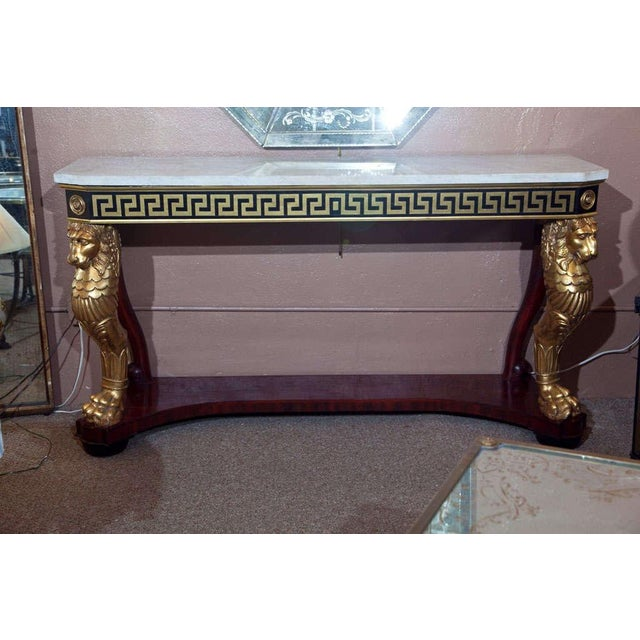 Neoclassical Consoles by Jansen - A Pair - Image 2 of 10