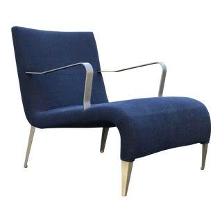 1990s Vintage Antonio Citterio for B&b Italia Maxalto 'Apta' Lounge Chair For Sale